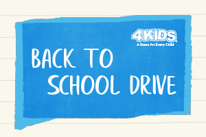 4KIDS Back to School Drive